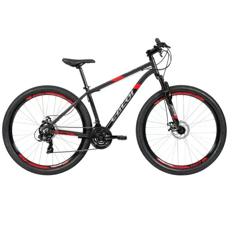 Bicicleta Caloi - Supra Cinza - Aro 29 - Tamanho 17 (M)