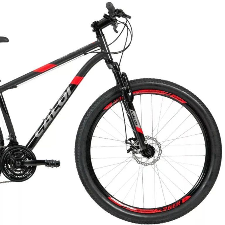 Bicicleta Caloi - Supra Cinza - Aro 29 - Tamanho 17 - 2021