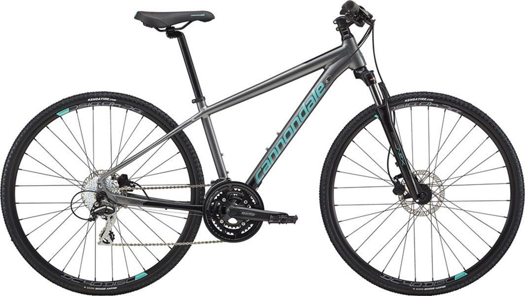 Bicicleta Cannondale - Althea 3 - 2018 - Cinza / Azul - Feminina