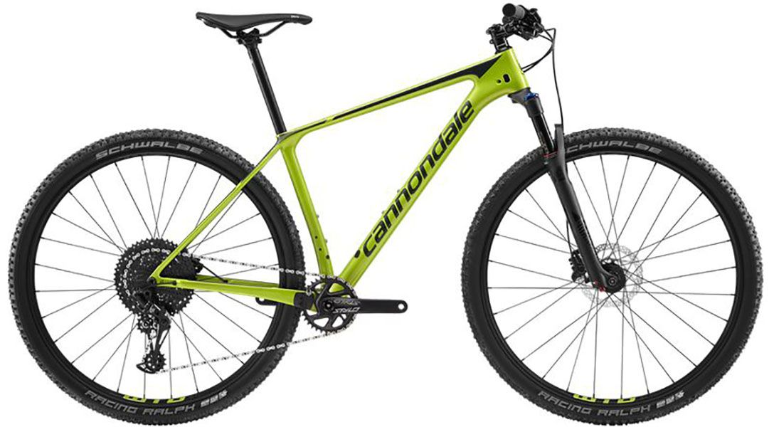 Bicicleta Cannondale - FSI Carbon 5 - 2019 - Verde / Preta + Brinde