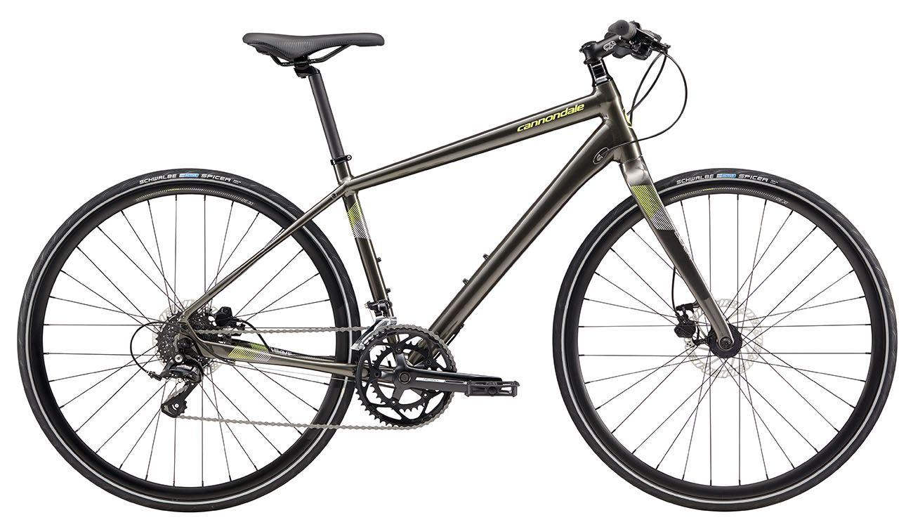 Bicicleta Cannondale - Quick 3 Disc - 700c - 2018 - Cinza Perolizado