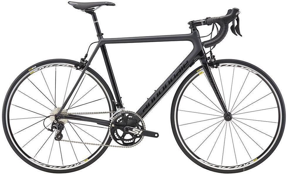 Bicicleta Cannondale - Supersix Evo 105 - 2018 - Preta
