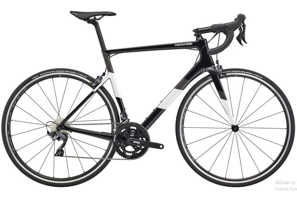 Bicicleta Cannondale - Supersix Evo Carbon Ultegra - Preta