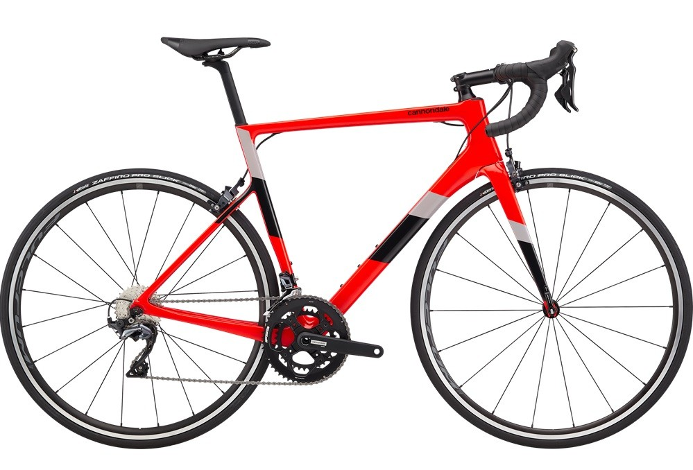 Bicicleta Cannondale - Supersix Evo Carbon Ultegra - Vermelha