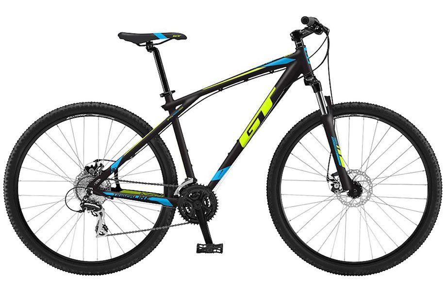 Bicicleta GT - Timberline Expert 2018 - Preta / Amarela / Azul + Brinde