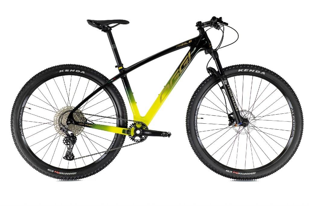 Bicicleta Oggi 29'' - Agile Sport - Preto / Amarelo
