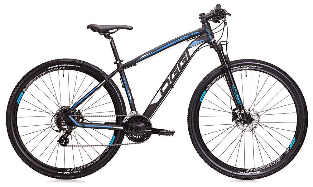 Bicicleta Oggi - 7.0 - 2018 - Preta / Azul / Branca + Brinde