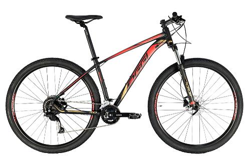 Bicicleta Oggi - Big Wheel 7.0 - 2021 - Preta / Dourado / Vermelho
