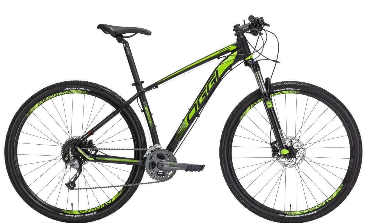 Bicicleta Oggi - Big Wheel 7.1 - 2019 - Preta / Verde + Brinde