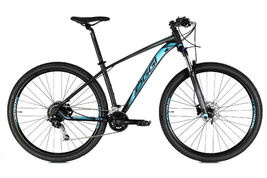 Bicicleta Oggi - Big Wheel 7.1 - 2021 - 18v - Preto / Azul / Grafite