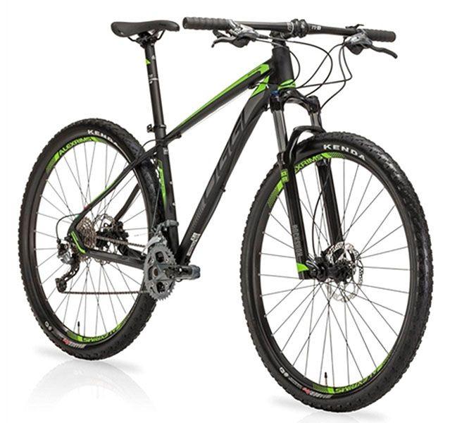 Bicicleta Oggi - Big Wheel 7.2 - 2019 - Preta / Verde / Cinza