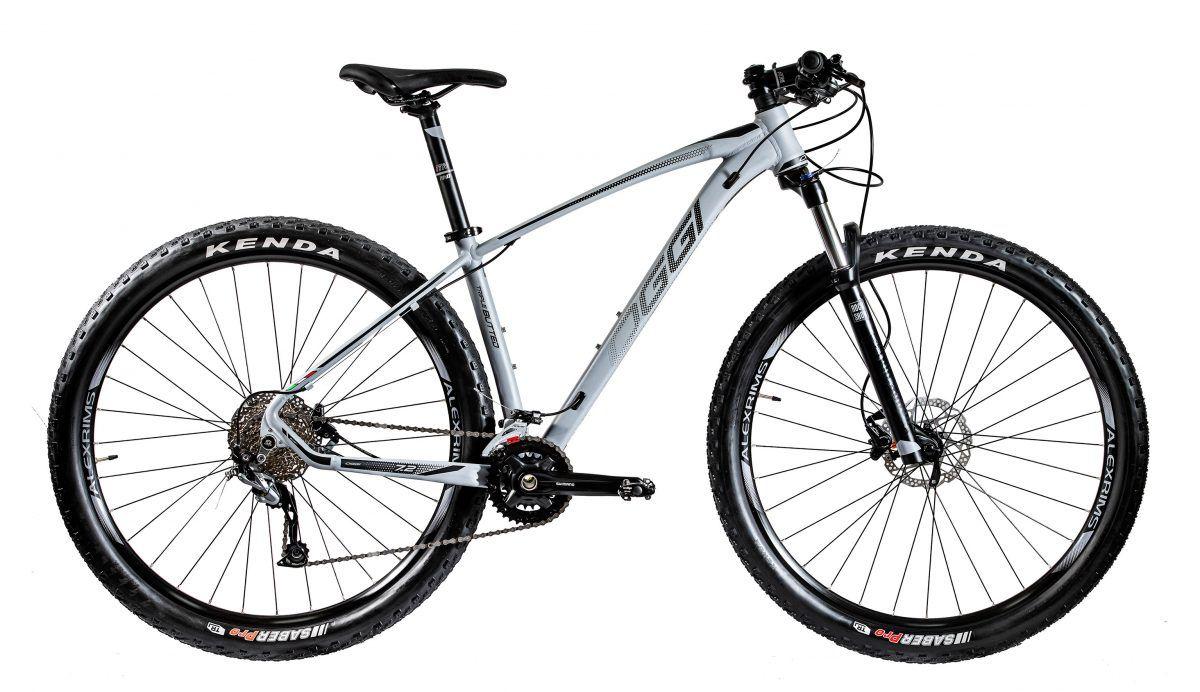 Bicicleta Oggi - Big Wheel 7.2 - 2020 - 18v - Grafite / Preto