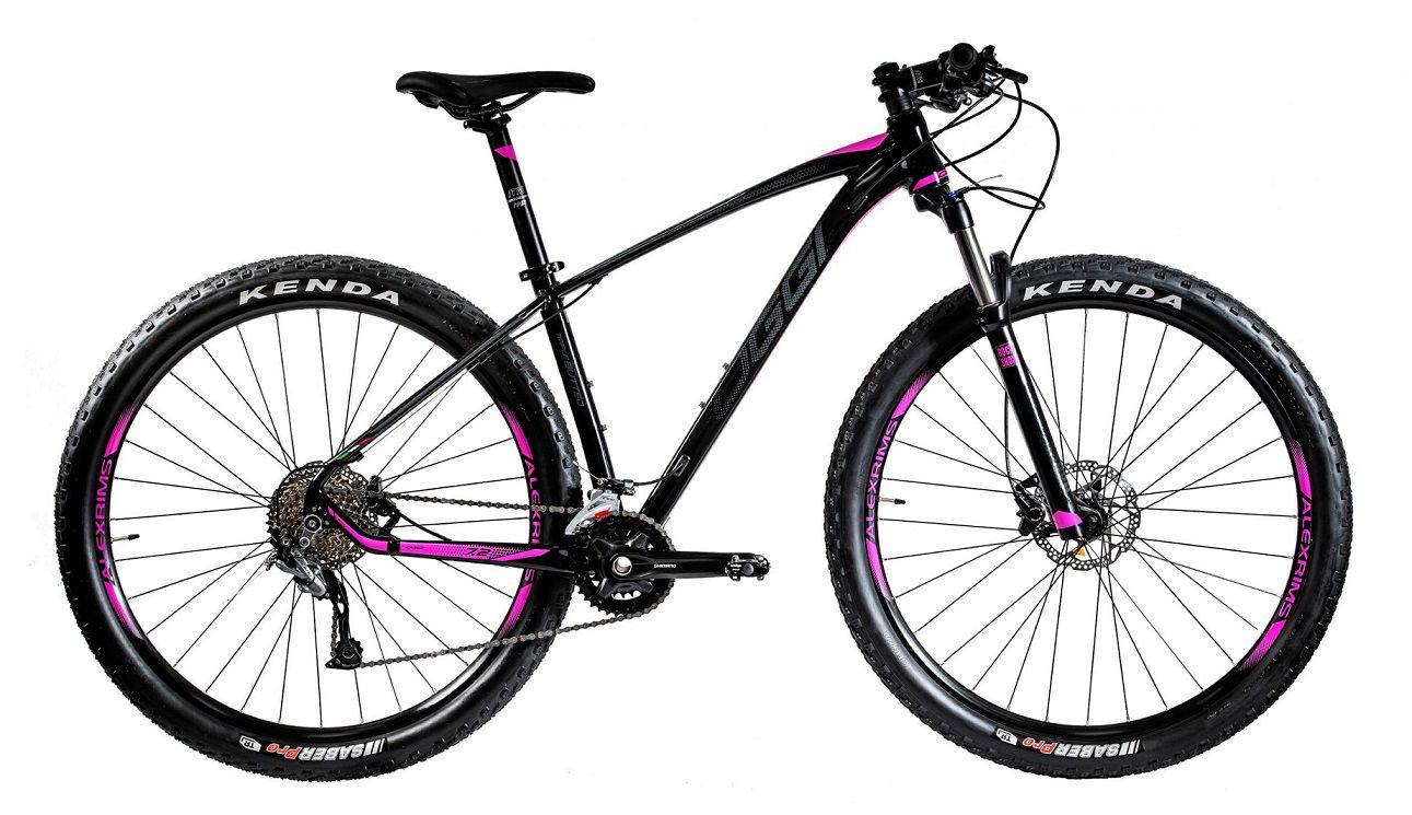Bicicleta Oggi - Big Wheel 7.2 - 2020 - 18v - Preto / Pink / Grafite