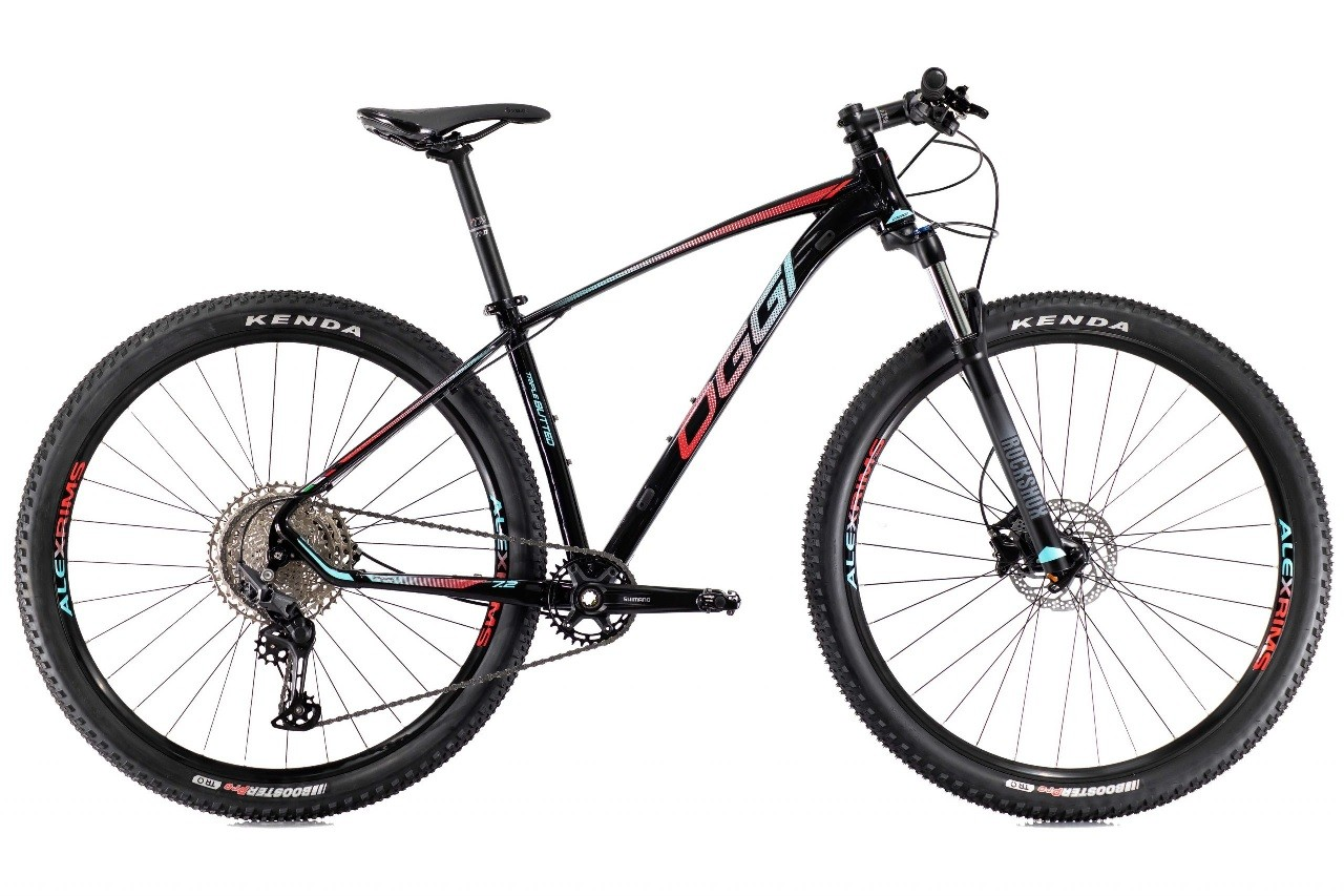 Bicicleta Oggi - Big Wheel 7.2 - 2021 - Preta / Azul / Vermelha