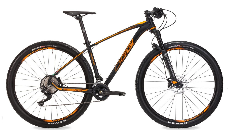 Bicicleta Oggi - Big Wheel 7.3 - 2019 - Preta / Laranja + Brinde