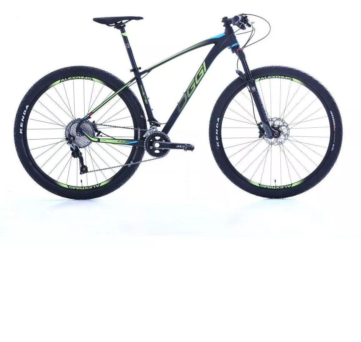 Bicicleta Oggi - Big Wheel 7.4 - 2019 - Preta / Amarela / Azul