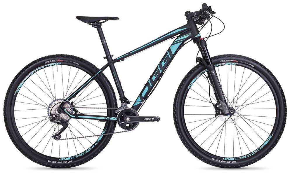 Bicicleta Oggi - Big Wheel 7.4 - 2018 - Preta / Azul / Cinza + Brinde