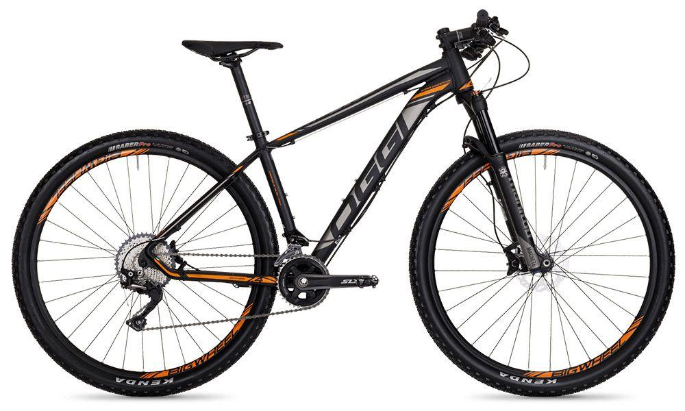 Bicicleta Oggi - Big Wheel 7.4 - Preta / Laranja / Cinza