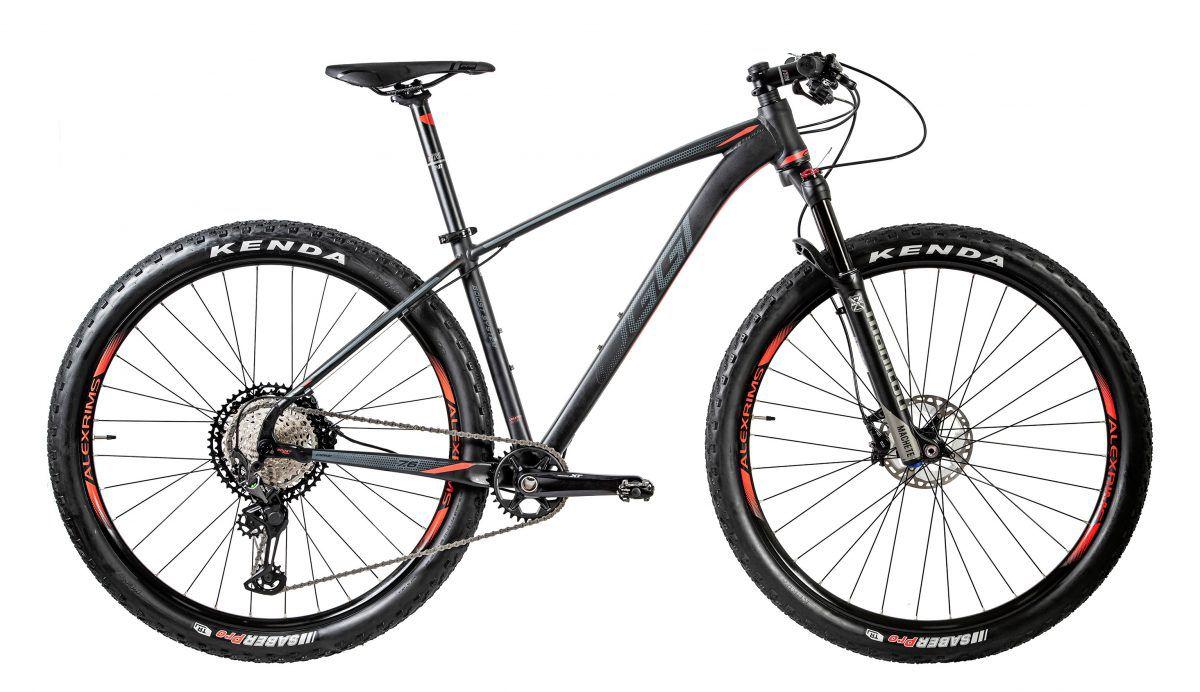 Bicicleta Oggi - Big Wheel 7.6 - 2020 - Preto / Grafite / Vermelho