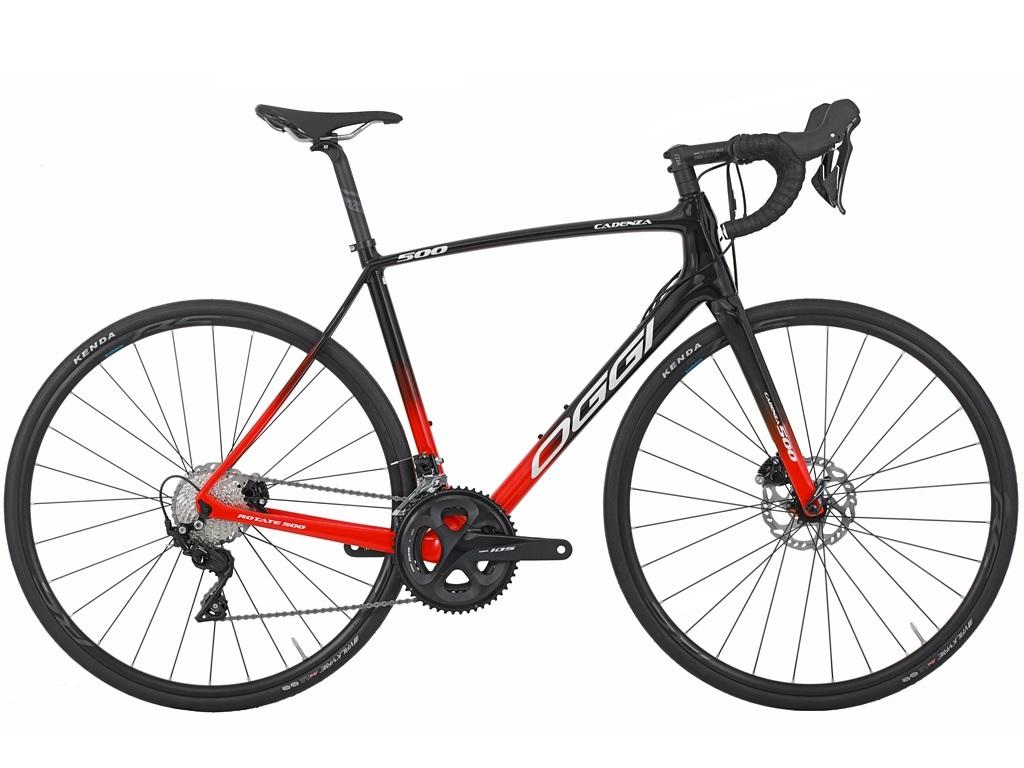 Bicicleta Oggi - Cadenza 500 Disc - 105 - Vermelho / Preto - 2021