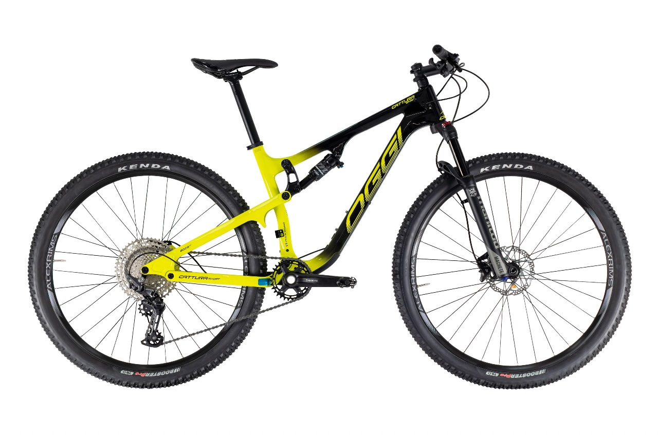 Bicicleta Oggi - Cattura Sport - 2021 - Preta / Amarela