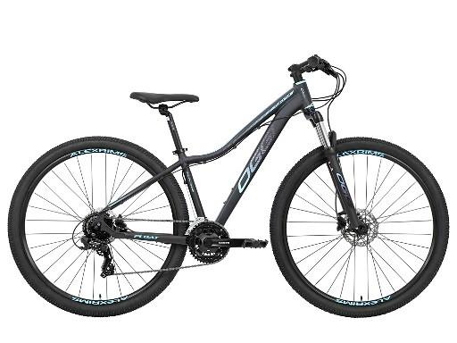 Bicicleta Oggi - Float 5.0 HDS - Preta / Azul / Pink - 24v