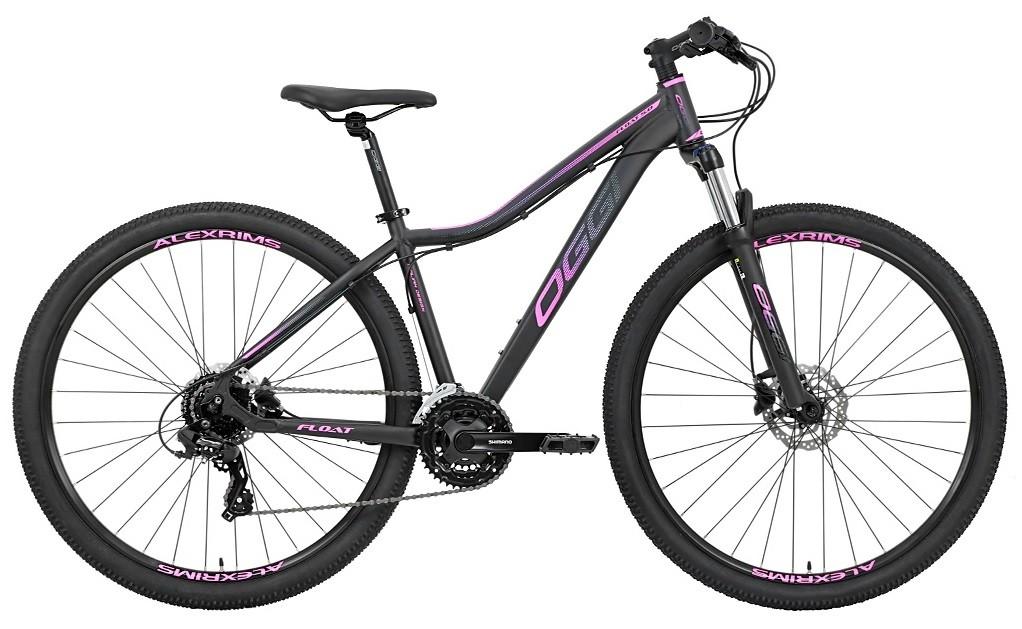 Bicicleta Oggi - Float 5.0 HDS - Preta / Pink / Azul - 24v