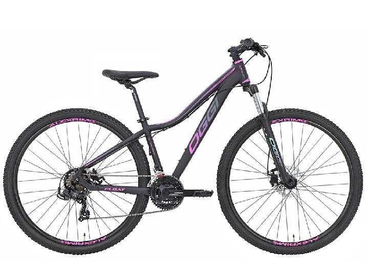 Bicicleta Oggi - Float Sport Feminina - Preta / Rosa - 2019