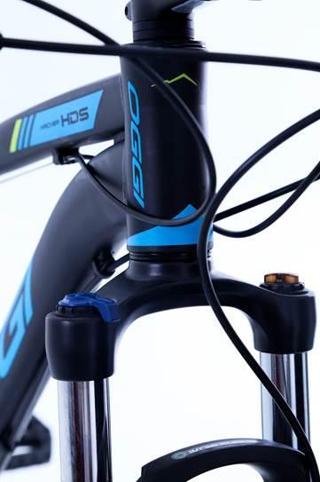 Bicicleta Oggi - Hacker HDS 24v - Preto / Azul / Verde Neon