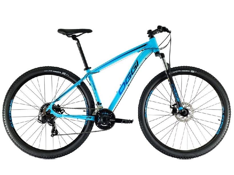 Bicicleta Oggi - Hacker Sport 29 - Azul / Azul / Preto - 2021