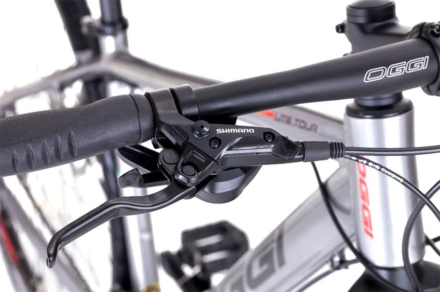 Bicicleta Oggi - Lite Tour 700 - Prata / Vermelha