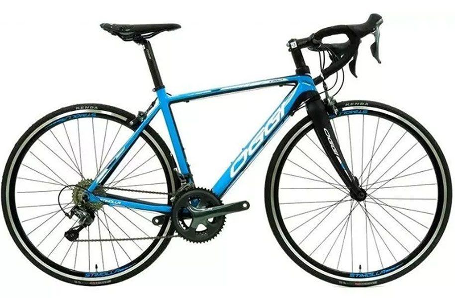 Bicicleta Oggi - Stimolla 2018 - Preta / Azul + Brinde