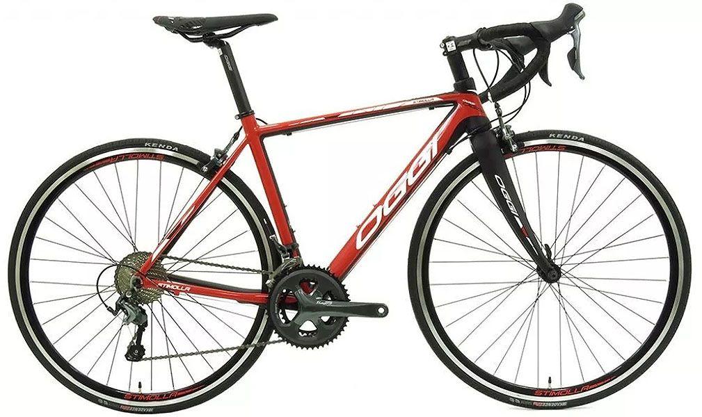 Bicicleta Oggi - Stimolla 2018 - Preta / Vermelha + Brinde