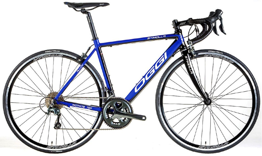 Bicicleta Oggi Stimolla - Azul / Preta + Brinde