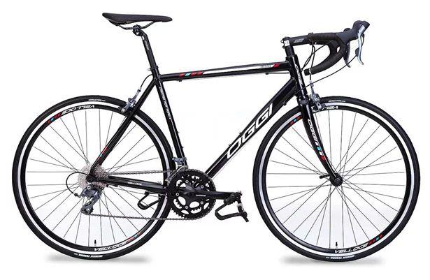 Bicicleta Oggi - Velloce 700c - Claris - 2018 - Preta / Branca