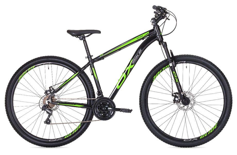 Bicicleta OX Glide - Preta / Verde