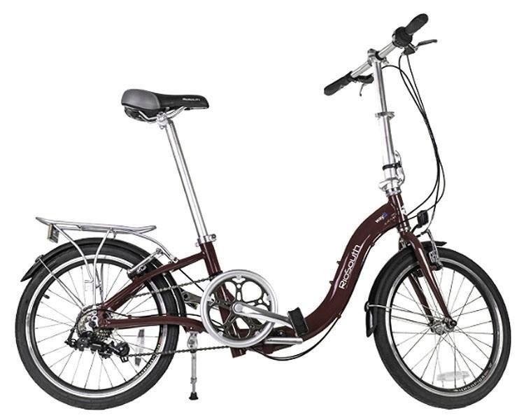 Bicicleta Rio South Way S - Dobrável - Marrom