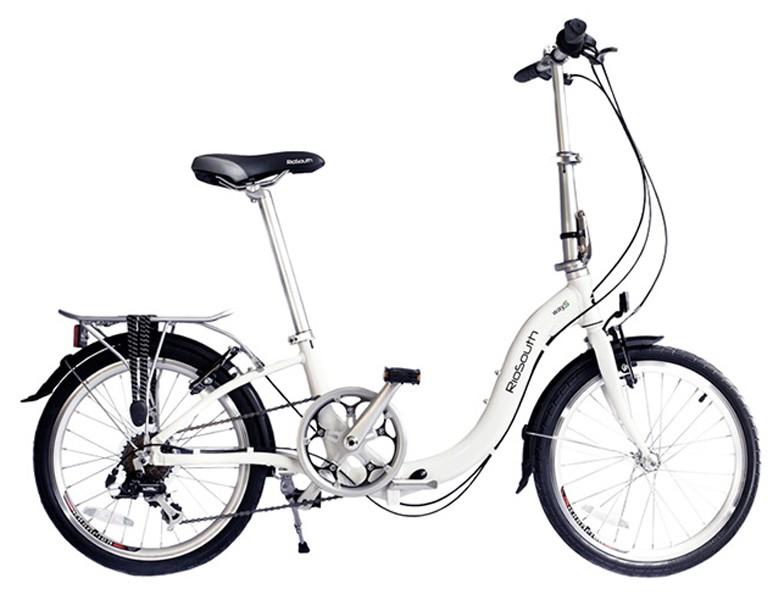 Bicicleta Rio South Way S - Dobrável - Branca
