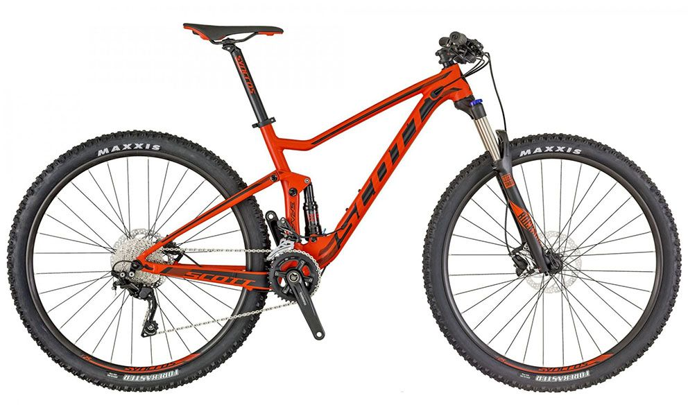 "Bicicleta Scott Spark 970 - 29"" - Laranja / Preta"
