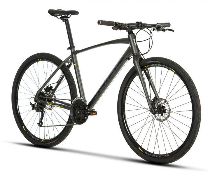 Bicicleta Sense - Active 2019 - Preta / Cinza + Brinde