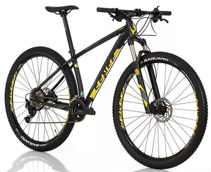 Bicicleta Sense - Impact Evo - Preta / Amarela