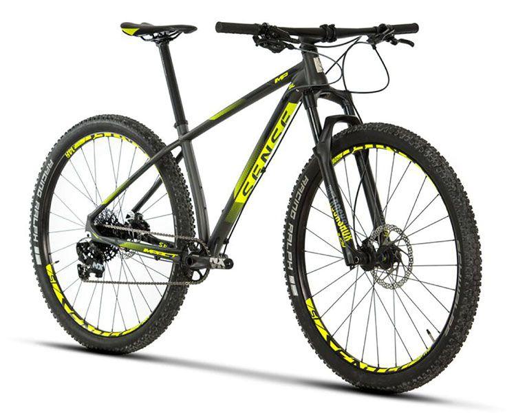 Bicicleta Sense - Impact SL - 2019 - Cinza / Amarelo
