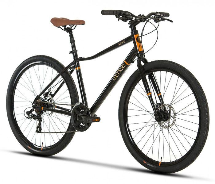 Bicicleta Sense - Move Disc - 2019 - Preta / Marrom