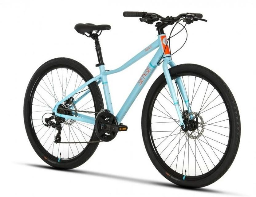 Bicicleta Sense - Move Disc - 2019 - Azul / Laranja + Brinde