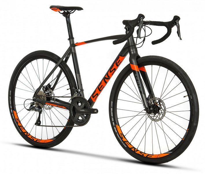 Bicicleta Sense - Versa - Preta / Laranja