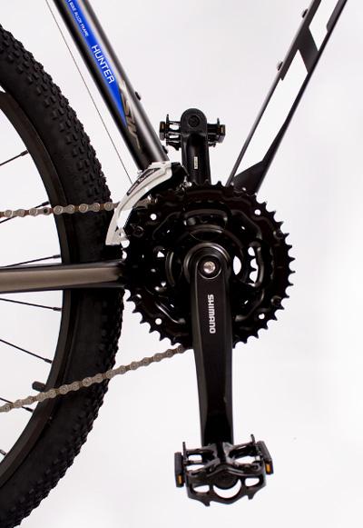 "Bicicleta TSW - Hunter - 29"" Preta / Azul / Branca - Tam 19"