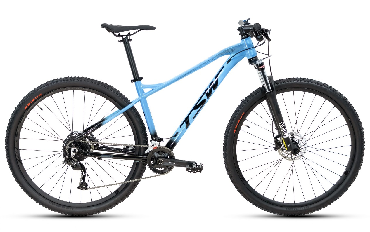 Bicicleta TSW - Stamina Plus - Aro 29 18v - Azul Claro / Preto - 2021/2022