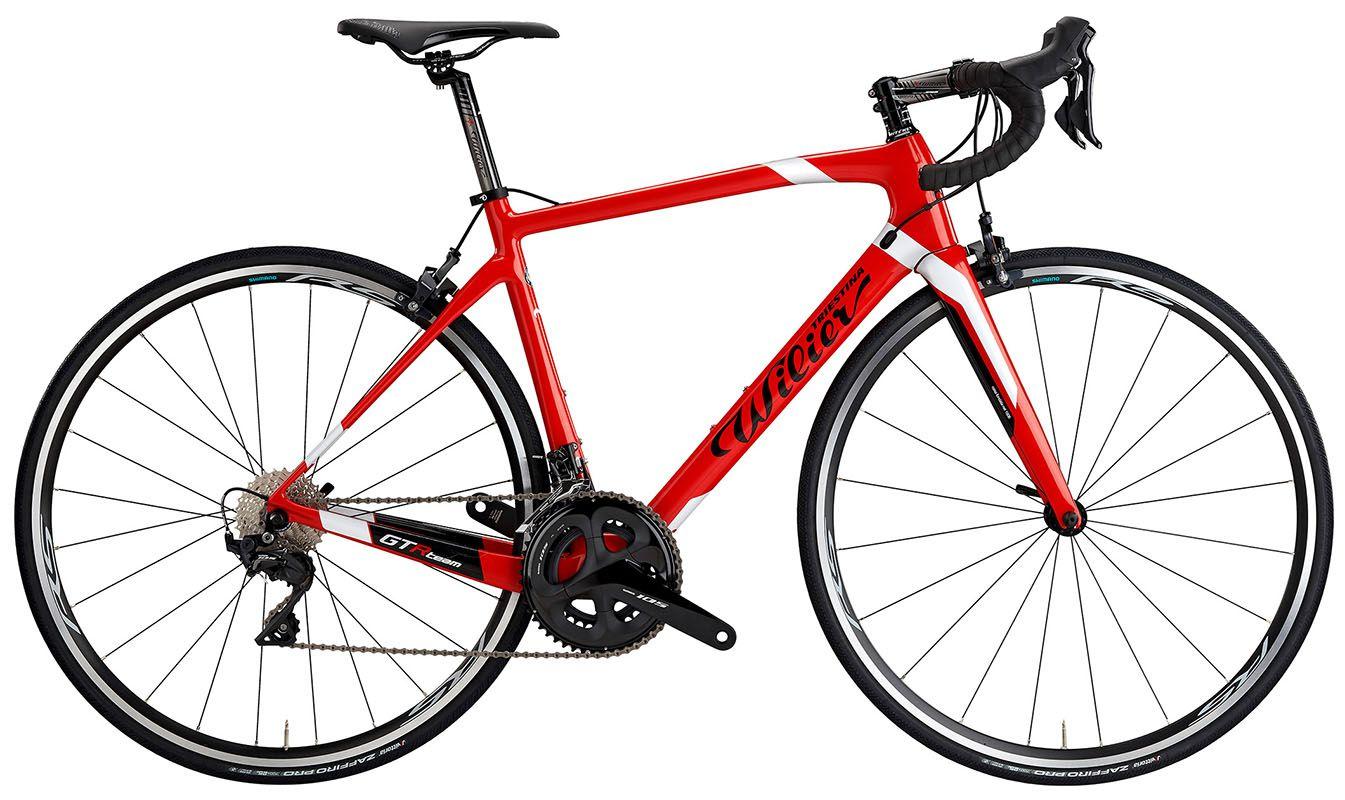 Bicicleta Wilier - GTR Team 105 - Vermelha
