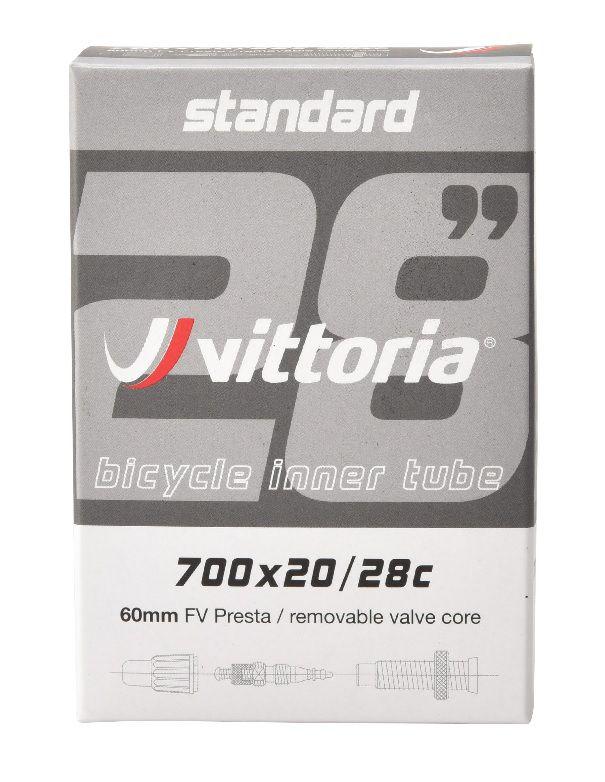 Câmara de Ar - Vittoria - Standard 700 x 20/28c - Presta 60mm Removível