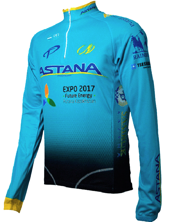 Camisa ERT - Astana - ML